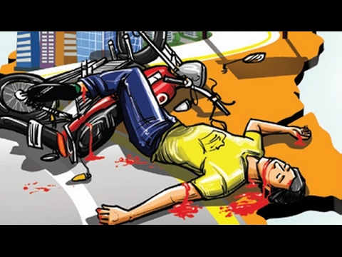 Illustrated Image of A Person Injured In An Accident.